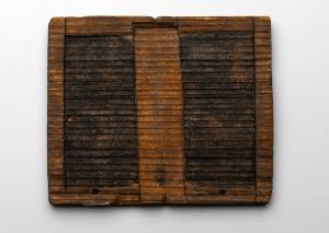 Schrijfplankje, met dank aan Fries Museum, Leeuwarden; Collectie Het Koninklijk Fries Genootschap